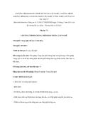 """CHƯƠNG TRÌNH KHUNG TRÌNH ĐỘ TRUNG CẤP NGHỀ, CAO ĐẲNG NGHỀ CHO NGHỀ """"CÔNG NGHỆ CHẾ TẠO VỎ TÀU THỦY"""""""