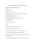 CHƯƠNG TRÌNH KHUNG TRÌNH ĐỘ CAO ĐẲNG NGHỀ Gia công và thiết kế sản phẩm mộc