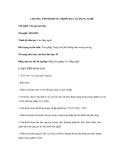 Bài giảng CHƯƠNG TRÌNH KHUNG TRÌNH ĐỘ CAO ĐẲNG NGHỀ