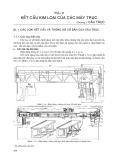 Giáo trình kết cấu kim loại máy trục -Phần II KẾT CẤU KIM LOẠI CỦA CÁC MÁY TRỤC - Chương 1