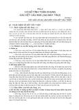 Giáo trình kết cấu kim loại máy trục - Phần I CƠ SỞ TÍNH TOÁN CHUNG CÁC KẾT CẤU KIM LOẠI MÁY TRỤC - Chương 1