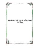 Bài tập lớn luật vận tải biển - Cảng Đà Nẵng