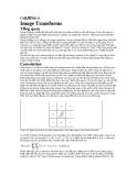 CHƯƠNG 6 Image Transforms