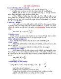 Ôn tập vật lý - chương 1
