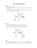 Bài tập môn nguyên lý máy - 5