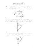 Bài tập môn nguyên lý máy - 1
