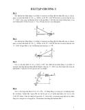 Bài tập môn nguyên lý máy - 2