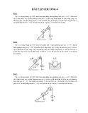 Bài tập môn nguyên lý máy - 3