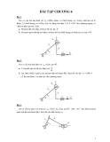 Bài tập môn nguyên lý máy - 4