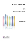 Check Point IPSR75Administration Guide