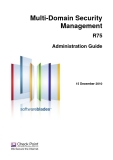 Multi-Domain Security Management R75 Administration Guide