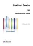 Quality of Service R75 Administration Guide