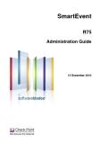 SmartEvent R75 Administration Guide