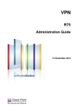 VPN R75 Administration Guide