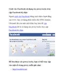 Cách vào Facebook sử dụng các proxy/socks truy cập