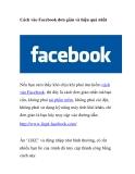 Cách vào Facebook đơn giản và hiệu quả nhất