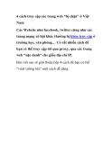"""4 cách truy cập các trang web """"bị chặn"""" ở Việt Nam"""