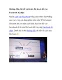 Hướng dẫn chi tiết cách sửa file hosts để vào Facebook bị chặn