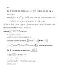 Đề ôn tập môn toán cao cấp