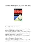 Sáng kiến kinh nghiệm môn kế toán tài chính lớp đại học - Bài tập – Bài giải Kế toán tài chính