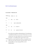 Bài 09 - Giờ, Kế hoạch hàng ngày
