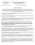 HƯỚNG DẪN THỰC HIỆN MỘT SỐ ĐIỀU CỦA NGHỊ ĐỊNH SỐ 116/2010/NĐ-CP