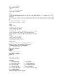 Tài liệu học tiếng Nhật 8