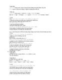 Tài liệu học tiếng Nhật 9