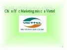 """Báo cáo makerting """" Chiến lược marketing mix của Viettel """""""