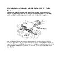 Các bộ phận cơ bản của một hệ thống lái ô tô 1