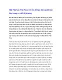 Hội Nhà báo Việt Nam với vấn đề đạo đức người làm báo trong cơ chế thị trường