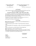 Quyết định số 2111/QĐ-BNN-TCCB