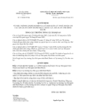 Quyết định số 1718/QĐ-TCHQ