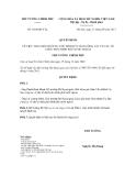 Quyết định số 1684/QĐ-TTg
