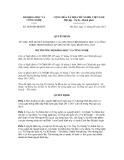 Quyết định số 2850/QĐ-BKHCN