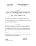 Quyết định số 28/2011/QĐ-UBND