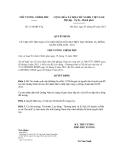 Quyết định số 1514/QĐ-TTg