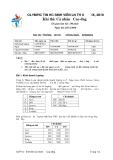 Đề thi olympic tin học sinh viên lần thứ 19 - 2