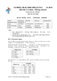 Đề thi olympic tin học sinh viên lần thứ 19 - 1