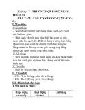 Hình học 7 - TRƯỜNG HỢP BẰNG NHAU THỨ HAI CỦA TAM GIÁC: CẠNH-GÓC-CẠNH (C-GC)