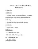 Hình học 7 - §6 TỪ VUÔNG GÓC ĐẾN SONG SONG