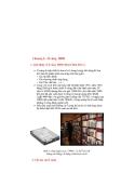 Chương 6 - Ổ cứng HDD1. Giới thiệu về ổ cứng HDD ( Hard Disk Drive ) Ổ cứng là