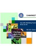 Học phần Marketing thương mại điện tử - Chương 1