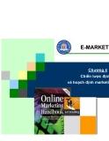 Marketing thương mại điện tử - Chương 4 Chiến lược định vị và hoạch định marketing điện tử