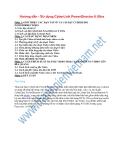 Hướng dẫn - Sử dụng CyberLink PowerDirector 8 Ultra