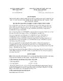 Quyết định số 2122/QĐ-BNN-XD