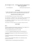 Quyết định số 1953/QĐ-BGTVT