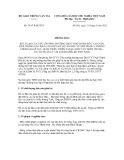 Thông báo số 343/TB-BGTVT