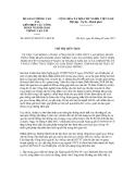 Chỉ thị liên tịch số 06/CTLT-BGTVT-LHCCĐ