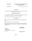 Quyết định số 3892/QĐ-BTP